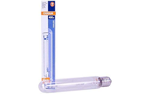 Weedness Osram Leuchmittel 400 Watt Natriumdampflampe - Blüte NDL 400w Pflanzenlampe Beleuchtung Glühbirne -