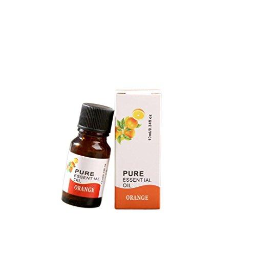BeautyTop 10ml 100% reine & natürliche ätherische Öle Aromatherapie Duft Hautpflege (Orange) (Orange Aromatherapie)
