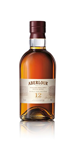 Aberlour 12 Jahre Highland Single Malt Scotch Whisky, Double Cask Matured Scotch Single Malt Whisky, 1 x 0,7 L - Honig Francisco San