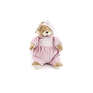 Duffi Baby- Peluche Porta Pijama, 100% Poliéster, Color Rosa (Master Baby Home, S.L. 4101-06)