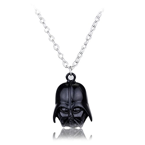 Darth Vader Helm Maske Anhänger Halskette Star Wars Kostüm Requisiten