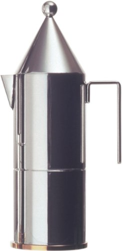 Officina-Alessi-La-Conica-3-Cup-Espresso-Coffee-Maker-Silver