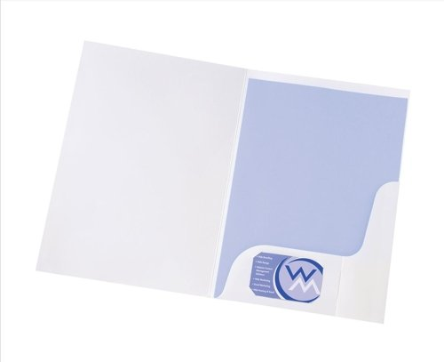 Corporate & Presentation Präsentationsmappe A4, 50 Stück, weiß-glänzend