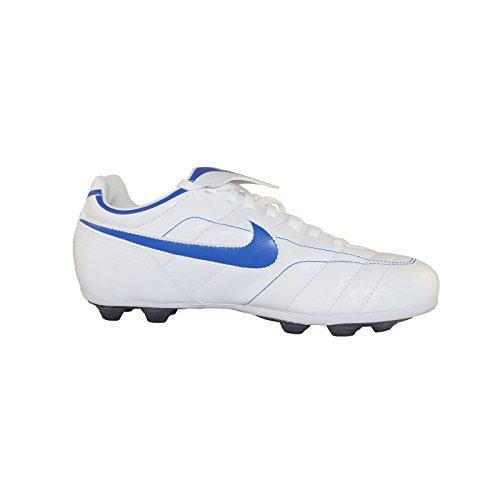 Nike Tiempo Natural VT Fussballschuhe weiß/blau, Schuhgröße:EUR 38 (Natural Nike-herren-tiempo)