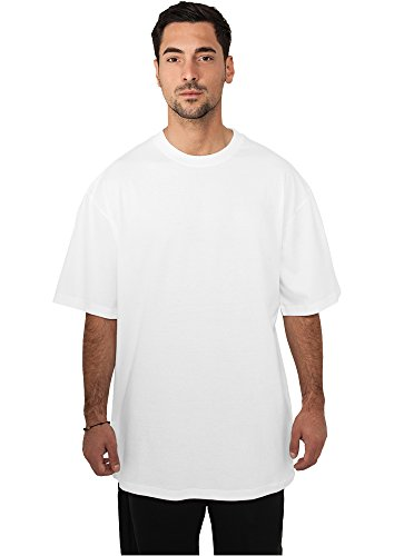 URBAN CLASSICS - Tall Tee (white), Gr. L (Tall Sleeve Long Tee)