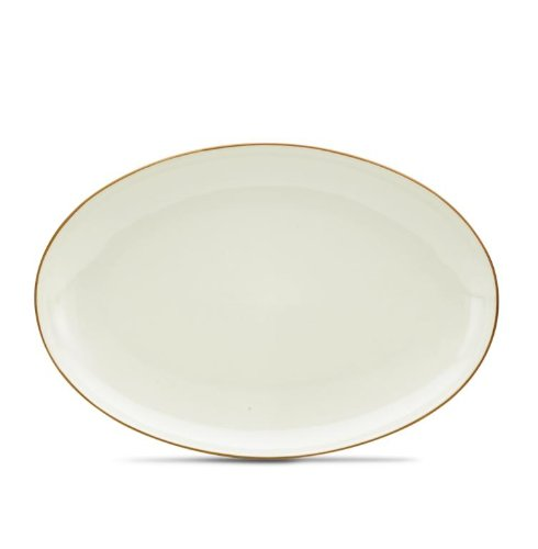 Noritake Colorwave Oval Platter, 16-Inch, Terra Cotta Brown by Noritake Oval, Terra-cotta