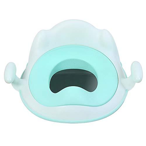 Siège de toilette pour enfants Bague de siège pour bébé mâle Bande de siège de toilette pour enfant de sexe féminin Toilette pour bébé Coffre-fort et respectueux de l'environnement, Facile à nettoyer,