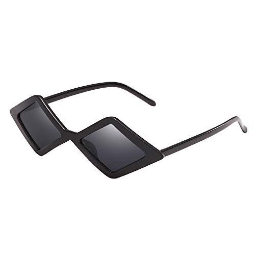 Battnot☀  Sonnenbrille für Damen Herren, Unisex Vintage Dreieck Frame Shades Integrierte UV-Gläser Sonnenbrillen Männer Frauen Retro Billig Sunglasses Super Coole Fashion Women Travel Eyewear