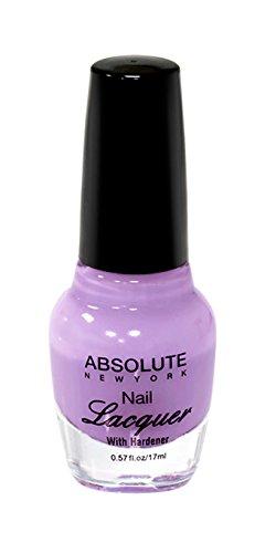 NEW YORK Vernis à ongles absolue – Antiques Purple, 1 pièce