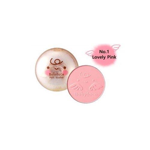 (3 Pack) ITS SKIN Babyface Petit Blusher #01 Lovely Pink