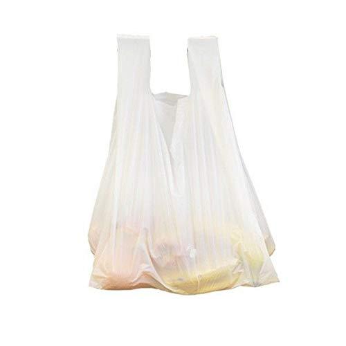 200x bolsa de la compra | 6L, blanco - Bolsas de plástico...