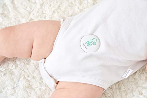 Sense-U Baby Monitor Breathing Temperature Rollover Movement Portable Alarm Alert you for No Breathing Movement, Stomach Sleeping, Overheating and Getting Cold(2019 Updated Version) Sense-U KNOW YOUR BABY'S BREATHING IS OKAY: Monitor your baby's breathing while they sleep, with audible alarm for no breathing movement and fast breathing movements(60+/min) from your smartphone, and notify you if something appears to be wrong. NOTIFY YOU FOR STOMACH SLEEPING: Monitor your baby's sleep position and notify you when your baby rolls over to stomach sleeping. PROTECT YOUR BABY FROM OVERHEATING & GETTING COLD: Monitor your baby's ambient temperature/humidity level around their body with built-in thermometer and notify you when levels go outside of preset zones. (2018 New Model: Temperature hole moved from bottom to top for faster overheating & cold detection) 8