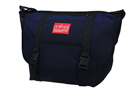 Manhattan Portage Unisex-Adult Waxed Canvas Messenger MD Bag 1635 Black