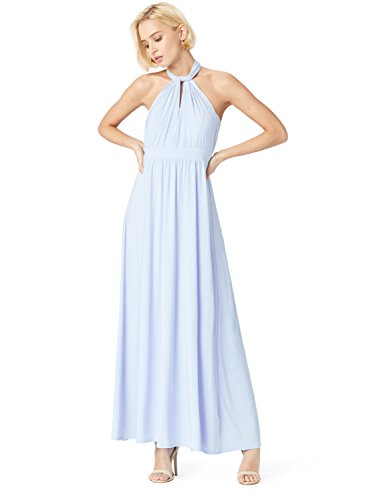 TRUTH & FABLE Vestito Lungo Donna Multiway Blu (Kentucky Blue)