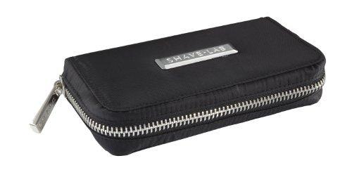 SHAVE-LAB Travel Bag für Rasiergriff und Ersatzklingen in Schwarz