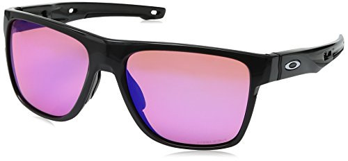 Oakley Herren Crossrange Sonnenbrille, Grau (Gris), 58