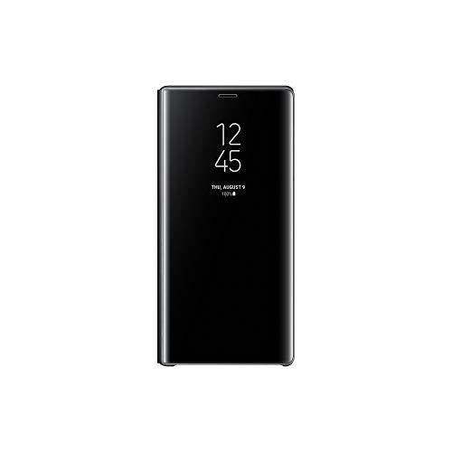 Samsung Clear View Hülle 'EF-ZN960' mit Standfunktion für Galaxy Note9, Schwarz