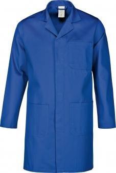 Arbeitsmantel- Berufsmantel-Berufskittel - Kittel grau , reine Baumwolle Gr.XS-5XL (L, Kornblau)