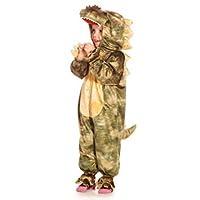 Green Dinosaur Dragon - Kids Costume 5 - 7 years