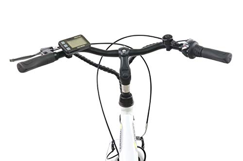 F.lli Schiano E-Moon 28'' bici elettrica bianca Img 1 Zoom