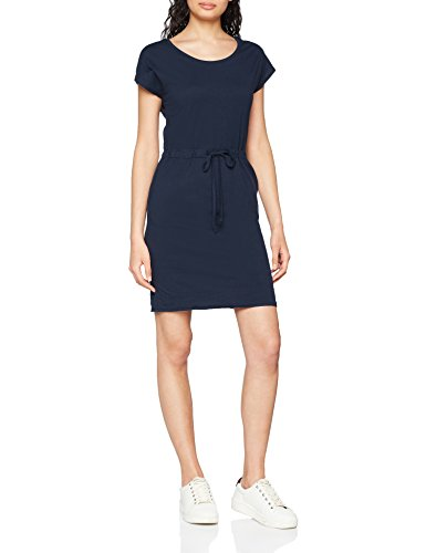 VERO MODA Damen Kleid Vmapril SS Short Dress GA Noos, Blau (Navy Blazer), 36 (Herstellergröße: S)