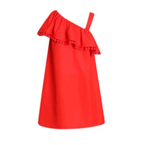 Mama & mich Blumendruck Familie Kleidung Kleid Mama & mich Kind Mädchen Kurzarm solide trägerlosen Rüschen Familie Kleidung Kleid (Verkauf Kleidung Kinder Schule)