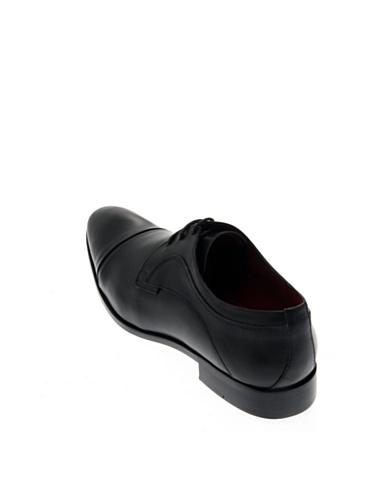 Pierre Cardin, Scarpe stringate uomo nero nero Nero