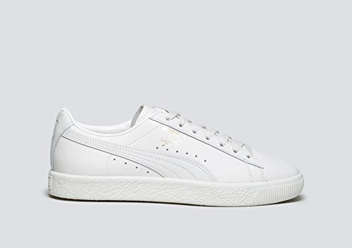 Puma Clyde Natural Homme Baskets Mode Blanc Star White
