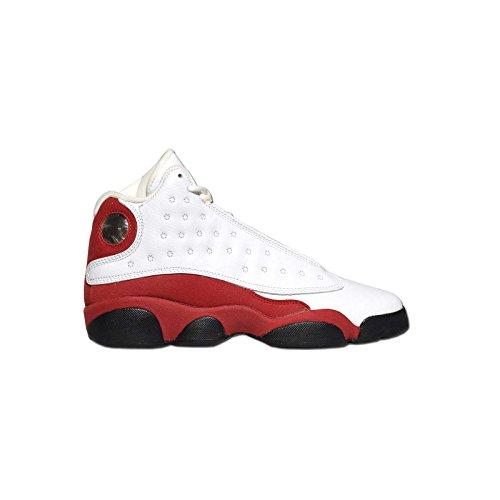Jordan - AIR JORDAN 13 RETRO GG - Basketball - Mid Top Sneaker - weiss / rot 37,5 (Air Jordan 13 Xiii Retro)