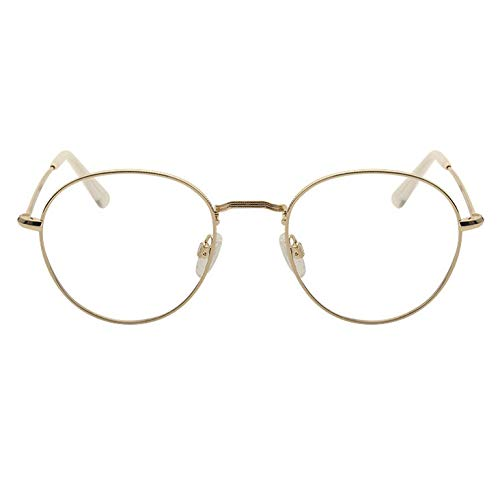 Round Frame Japanese And Korean Fashion Ultra Light Men And Women Models Optical Glasses To Wear Retro Art Can Prevent Blue Light A