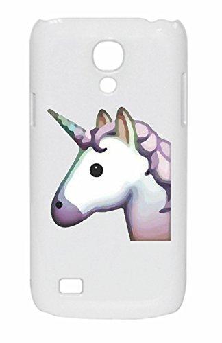 """Preisvergleich Produktbild Smartphone Case Samsung Galaxy S4 mini """"Pferdekopf bzw. Einhorn, Pinkes/Rosa Einhornkopf Magisch schön"""", der wohl schönste Smartphone Schutz aller Zeiten."""