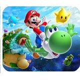 """Preisvergleich Produktbild Super Mario Galaxy 2 Mousepad Personalized Custom Mouse Pad Oblong Shaped In 9.84""""X7.87"""" Gaming Mouse Pad / Mat"""