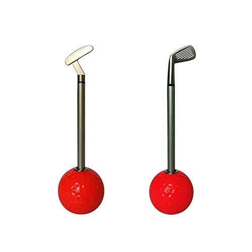 LanglebigPraktisch Club Stifte Dekorationen Schreibtisch Geschenke Multifunktions Stifthalter Mit Golfball Design Für Frauen Männer Neuheit Golf langlebigPraktisch (Farbe : C7, Größe : Free)