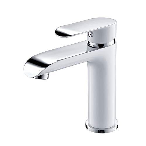 PHA-MACY Wasserhahn für Waschbecken, Wasserhahn, Wasserhahn, wassersparend, mit eigenem Wasserhahn, geeignet für warmes und kaltes Wasser in Küche und Bad