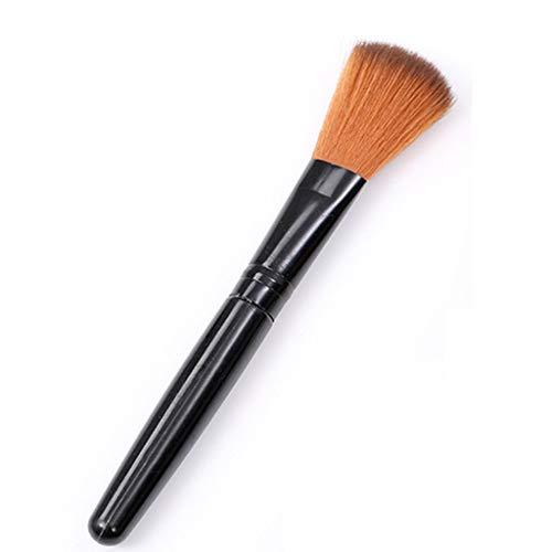 MakeUp Brush Foundation Flat Top, avec poils synthétiques et végétaliens, pinceaux pinceau à paupières poudre correcteur d'ombres à paupières correcteur, débutant et professionnel Kabuki, 3pcs