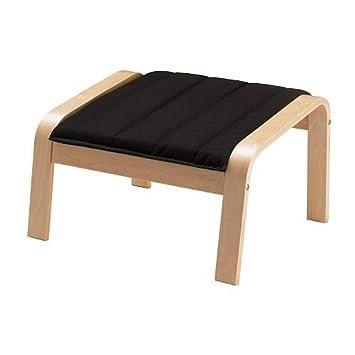 Sessel ikea schwarz  IKEA Hocker für Schwingsessel 'Poäng' passend für Sessel ...