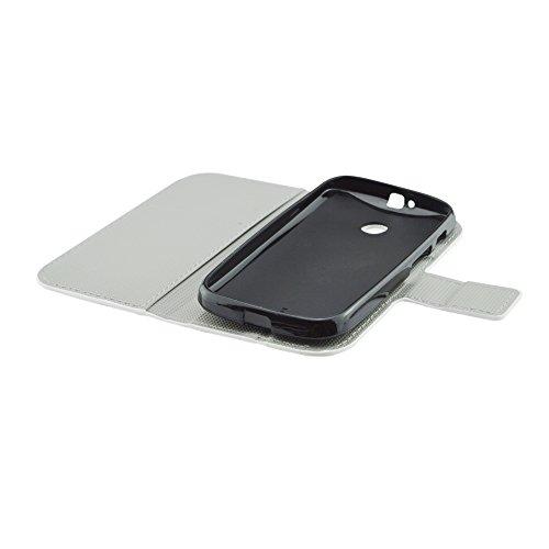 Qiaogle Telefon Case - PU Leder Wallet Schutzhülle Case für Apple iPhone 7 Plus (5.5 Zoll) - HY05 / Colorful Meteor HY02 / Retro UK England Britain Flag