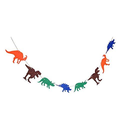 KEYkey Dinosaurier-Thema-Partei Dekoration Fahnen