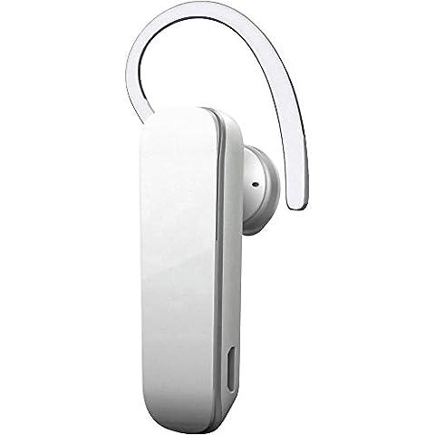 Oreillette Bluetooth avec câble micro USB Renkforce blanc