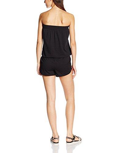 Urban Classics Ladies Hot Jumpsuit, Combinaisons Femme, Schwarz, Small Noir (7)