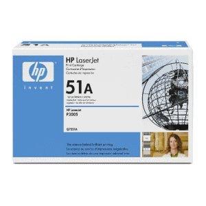 HP Toner Q7551A schwarz - Schwarz, Smart Druckkassette