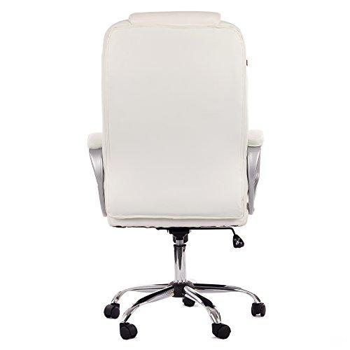 My sit milano deluxe sedia da ufficio in pelle sintetica for Sedia da ufficio amazon