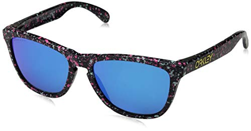 Oakley Sonnenbrillen FROGSKINS OO 9013 Splatter Collection Black Spotted/PRIZM Sapphire Iridium Unisex