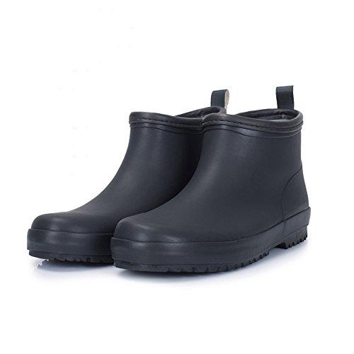 dd091fb6eb66e1 Stivali da pioggia LHA Stivali a Tubo Corto Scarpe da Acqua Scarpe da Donna  da Uomo