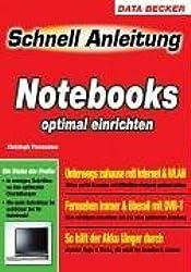 Schnell Anleitung Notebooks optimal einrichten