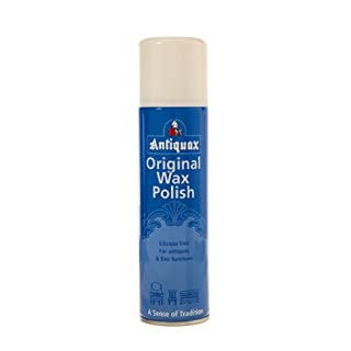 Antiquax 250 ml Original Aerosol Wax Polish, Transparent