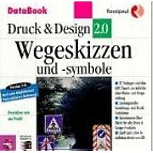 Druck und Design 2.0. Wegeskizzen und Symbole. CD- ROM für Windows 3.1/95