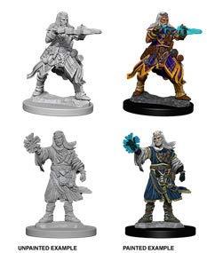 Pathfinder Deep Cuts Unpainted Minis: Male Human Wizard