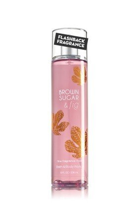 Bath and Body Works New Look Fall Brown Sugar & Fig Fragrance Mist Splash 8 oz by Bath & Body Works