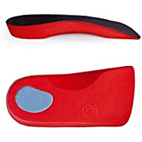 Sole Control Orthopädische Einlagen mit fester Senkfußeinlage und Fersenpolster, 3/4 Länge, für Plattfüße, Senkfüße... preisvergleich bei billige-tabletten.eu